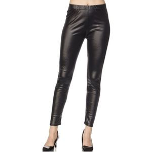On Trend Vegan Leather Leggings!
